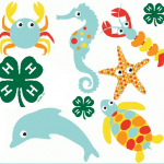 sea theme 4-H logo