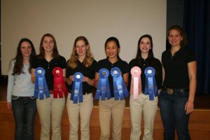Cover photo for Chatham County Horsekateers Win Blue at District Horse Bowl!