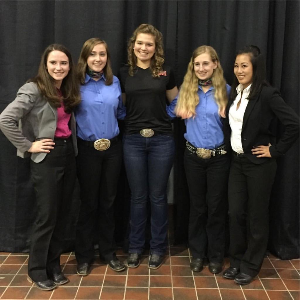 Chatham County Horsekateer 4-H Members