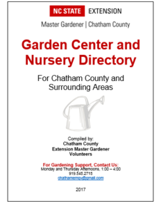 Garden Center and Nursery Directory cover