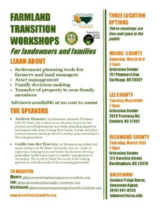 Cover photo for Farm Transition Workshops to Help With Estate Planning and Taxes