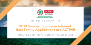 Cover photo for 4-H International Exchange Summer Opportunity