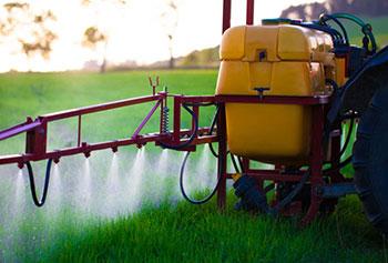 Image of pesticide application