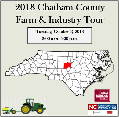 2018 Farm and Industry Tour flyer image