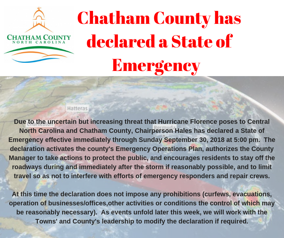 State of Emergency flyer image