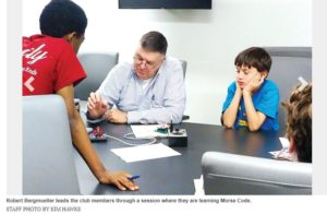 Cover photo for Chatham County's 4-H Stem Club Makes the News!
