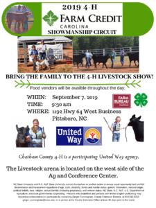 Farm Credit Showmanship Circuit poster