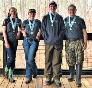 Cover photo for Chatham County Shooting Sports 4-H Club Participates in N.C. 4-H Hunter Skills Tournament