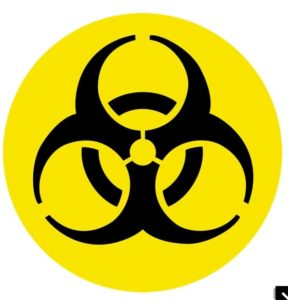 hazardous material icon