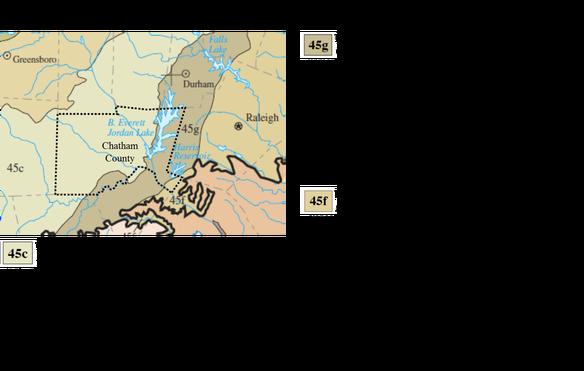 Eco-regions of Chatham