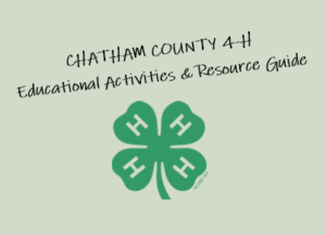 Cover photo for Chatham County 4-H - Educational Activities and Resources