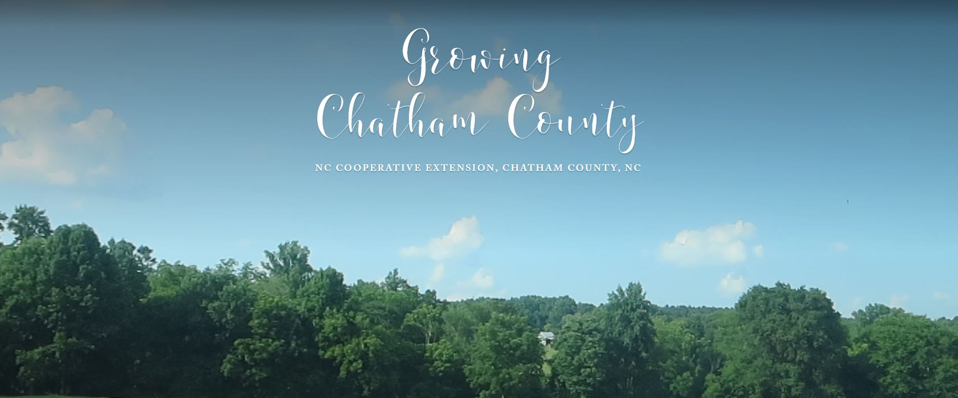 Growing Chatham County