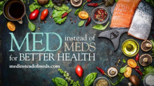 Cover photo for Eat Well in 2021 with Med Instead of Meds