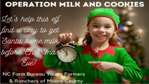 Cover photo for A Dairy Holiday Story With Jingle the Elf and Ashley Robbins, Extension Agent