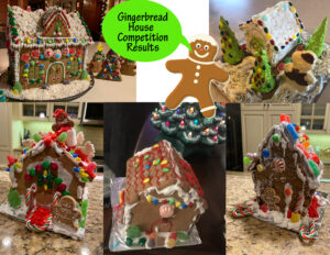 Cover photo for 4-H Gingerbread House Competition Results