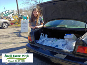 Cover photo for Small Farms Week Day 2:  Chatham County Shooting Sports 4-H Club Food Drive