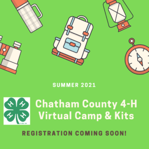 Cover photo for 4-H Virtual Camp & Kit Registration Coming Soon for Summer 2021