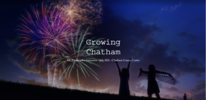 Cover photo for July's Edition of the Growing Chatham Newsletter and Podcast Are Waiting for You!