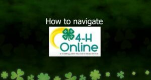 4-H Online How to Navigate video