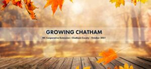 Cover photo for Fall in Love With October's Growing Chatham