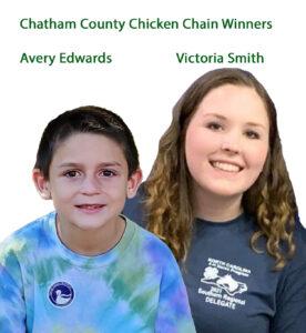 Two kids smiling at camera